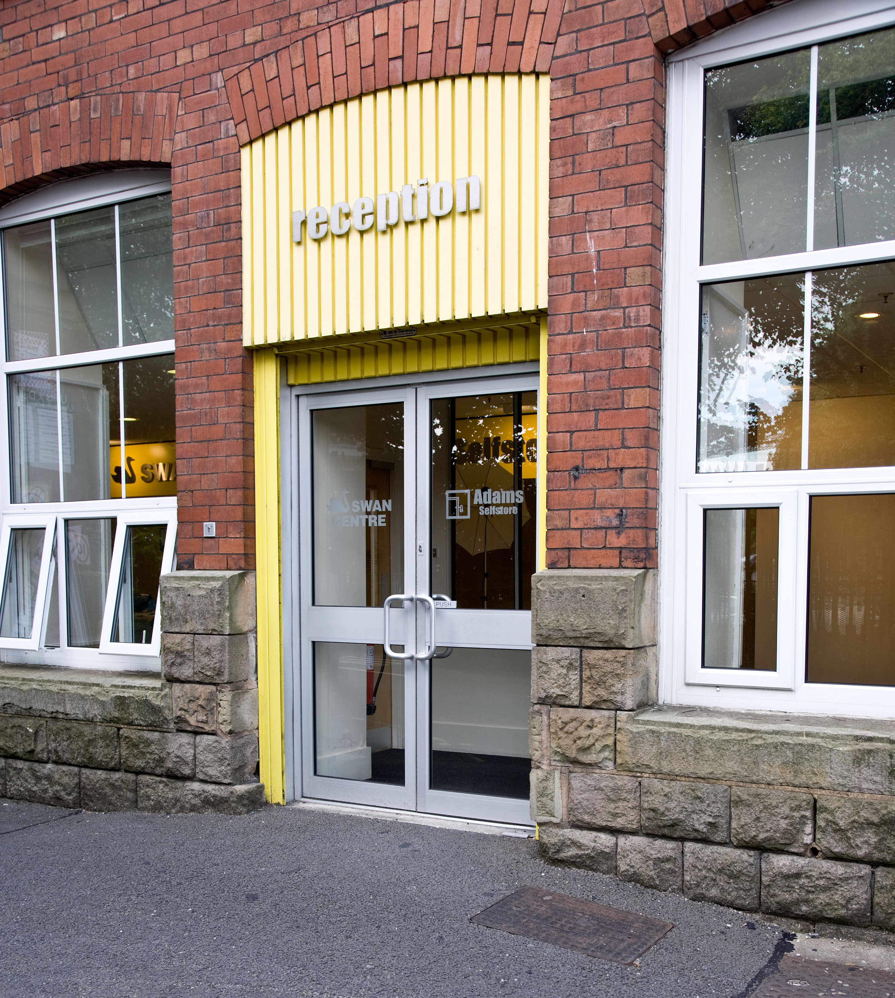 Our Bolton Swan Centre reception area.